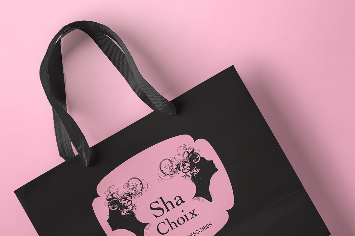 Sha Choix Bag Artwork