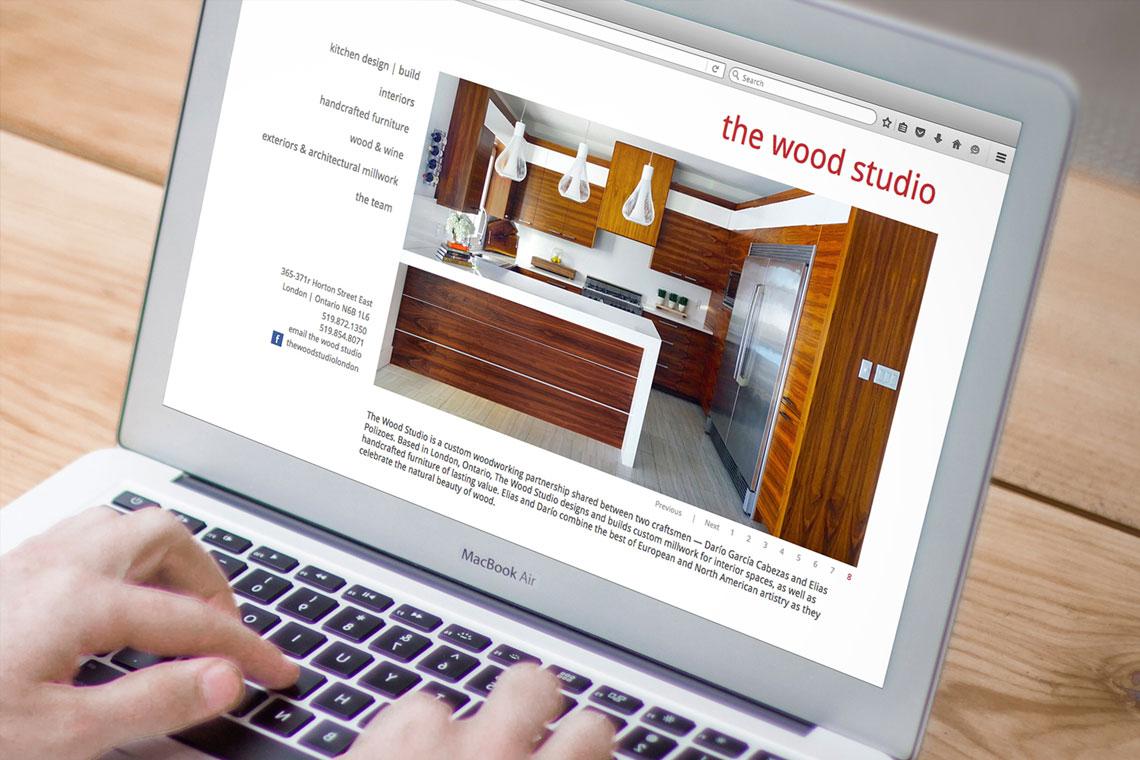the wood studio website