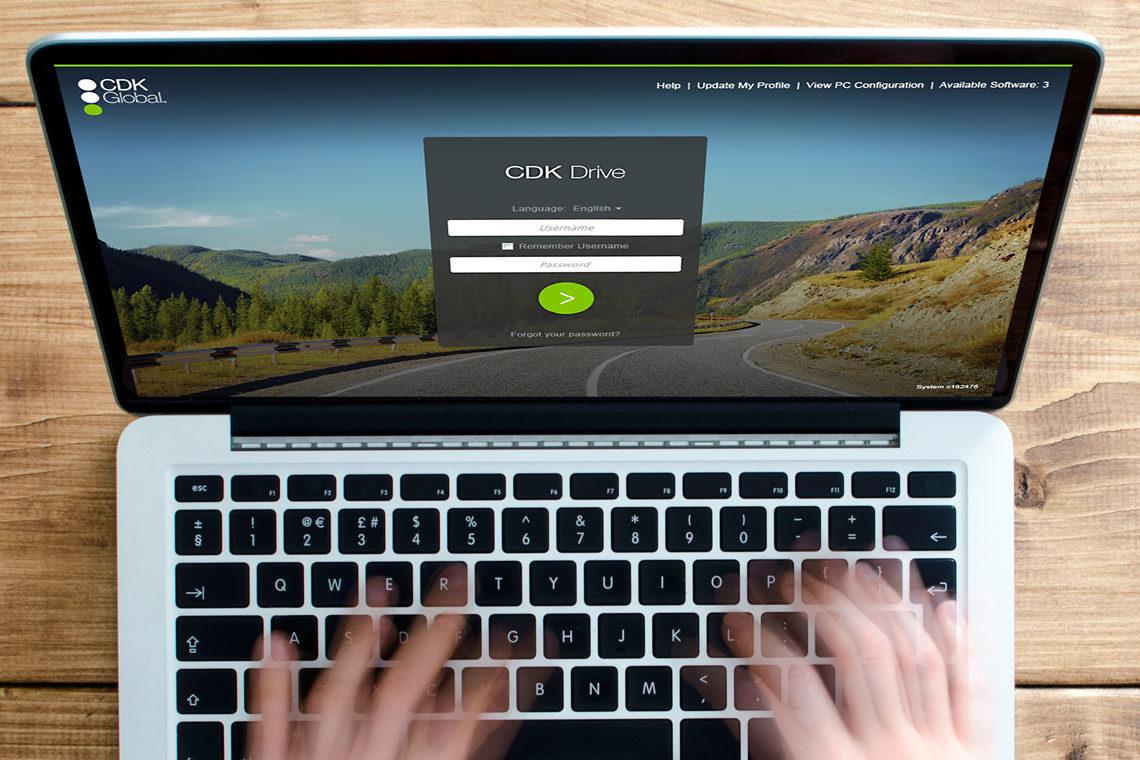 CDK Desktop Application Login