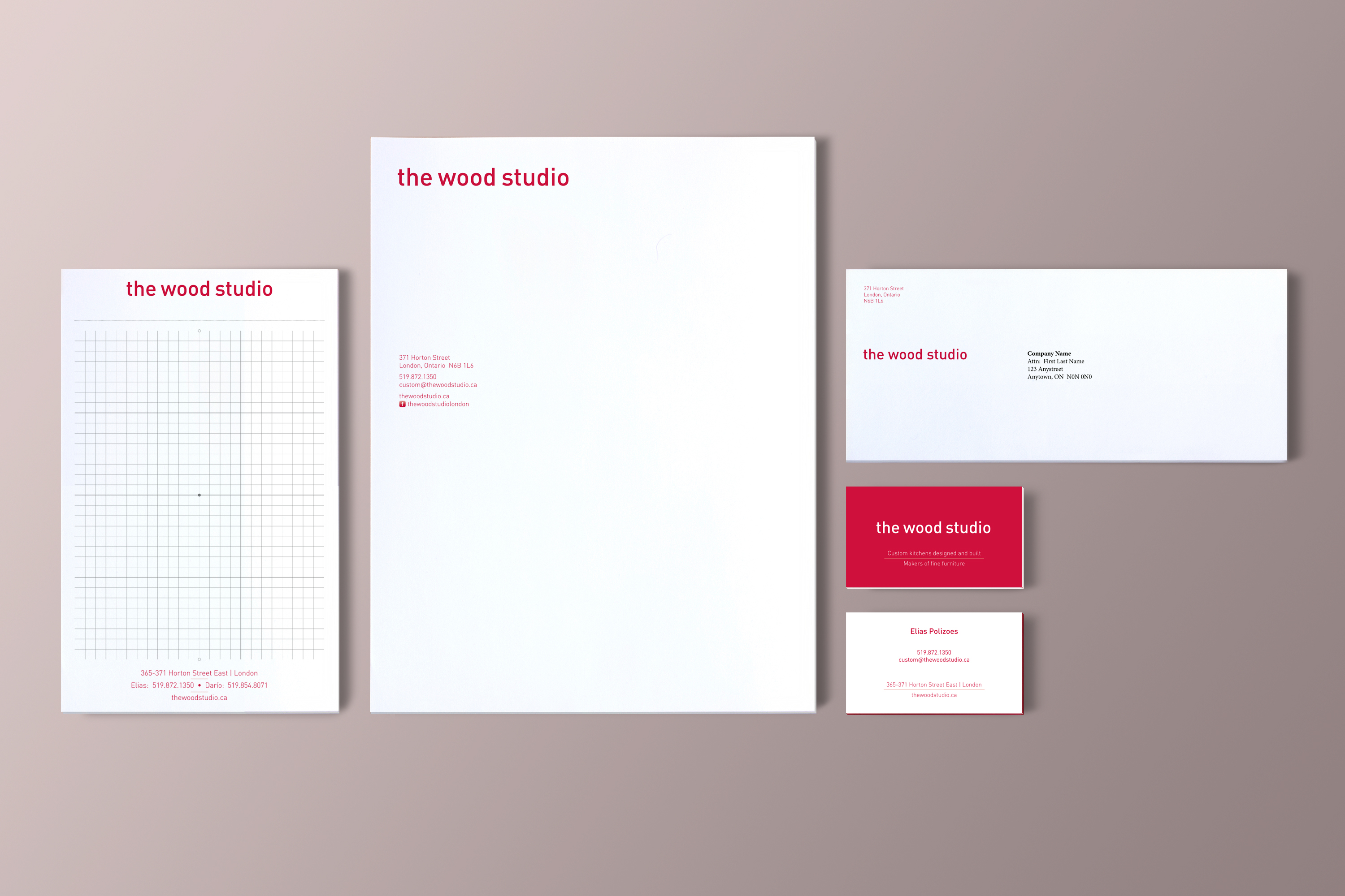 The Wood Studio Stationary