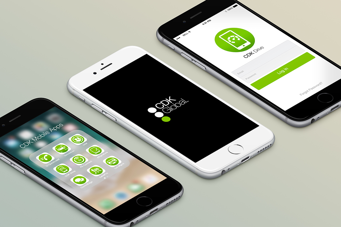 CDK Global Mobile App Rebranding